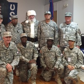 Santa supports our Vets!