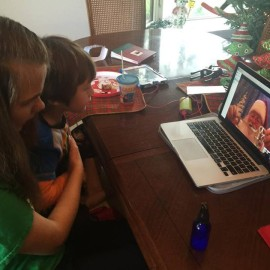 Did you know Santa can Skype?