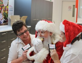 Santa Australia supports Red Cross